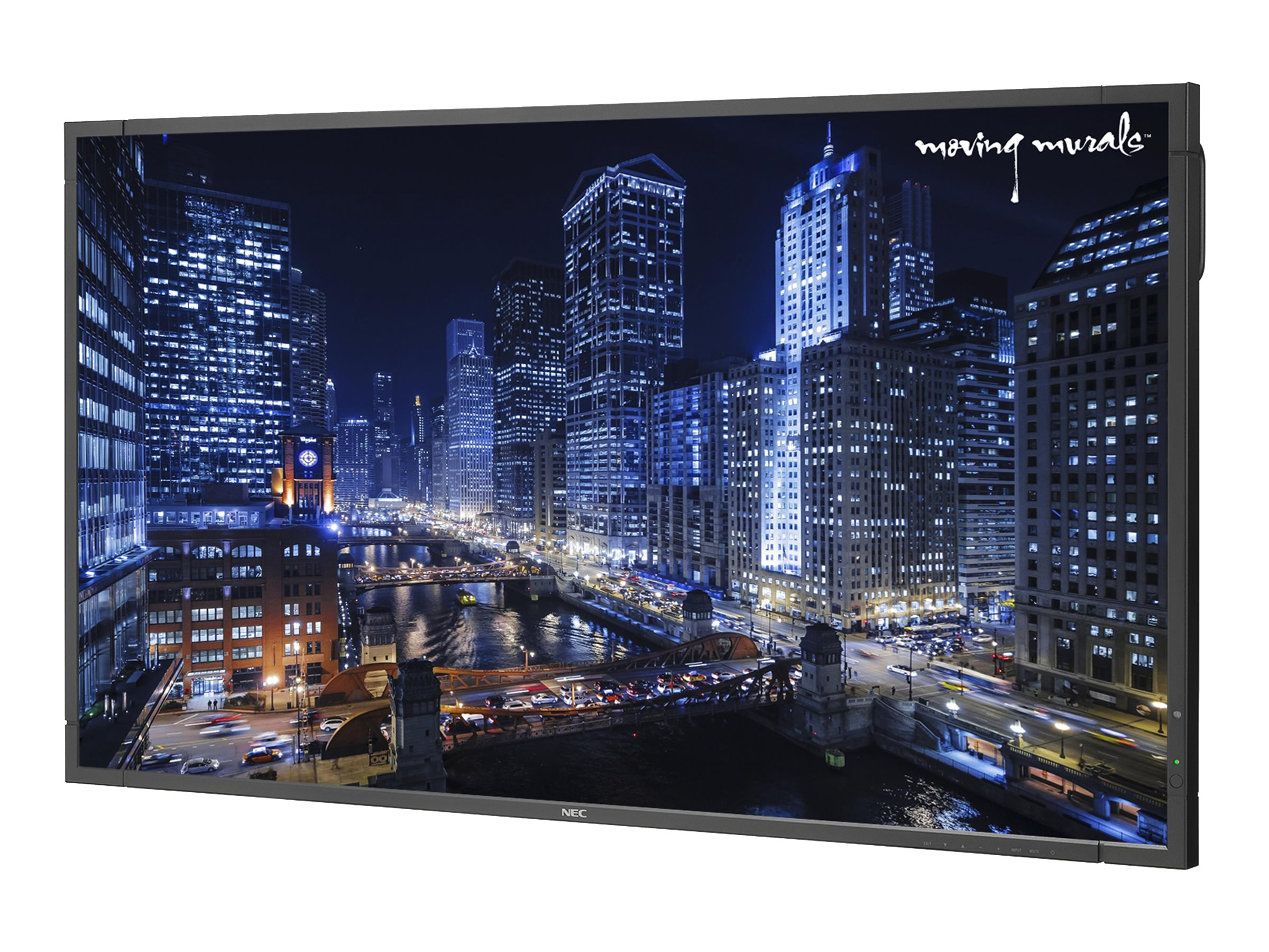 NEC 55 X551UHD 4K Ultra HD LED-LCD Display with OPS PC, 1Yr Moving Murals Subscription, X551UHD-MM