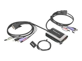 IOGEAR 2 Port USB DVI-D KVM Switch with Audio, GCS932UB, 10697198, KVM Switches