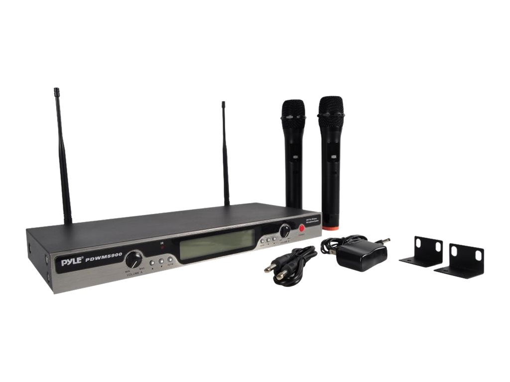 Pyle UHF Wireless Mic System, PDWM5900