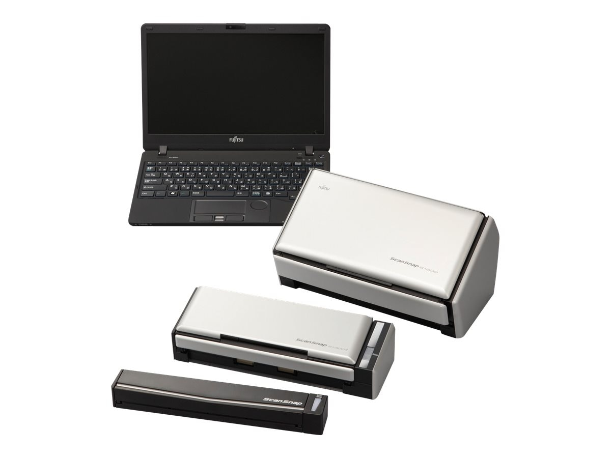 Fujitsu Scansnap S1300I Sheetfed Duplex Color 600dpi USB 2.0 A4 Scanner, PA03643-B005