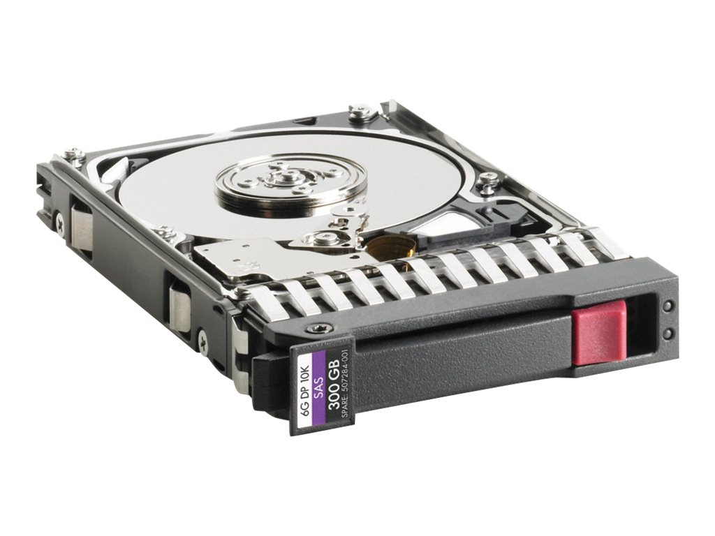 HPE 300GB 10K 2.5 SAS 6Gb s DP Hard Disk Drive, 507127-B21, 9648145, Hard Drives - Internal