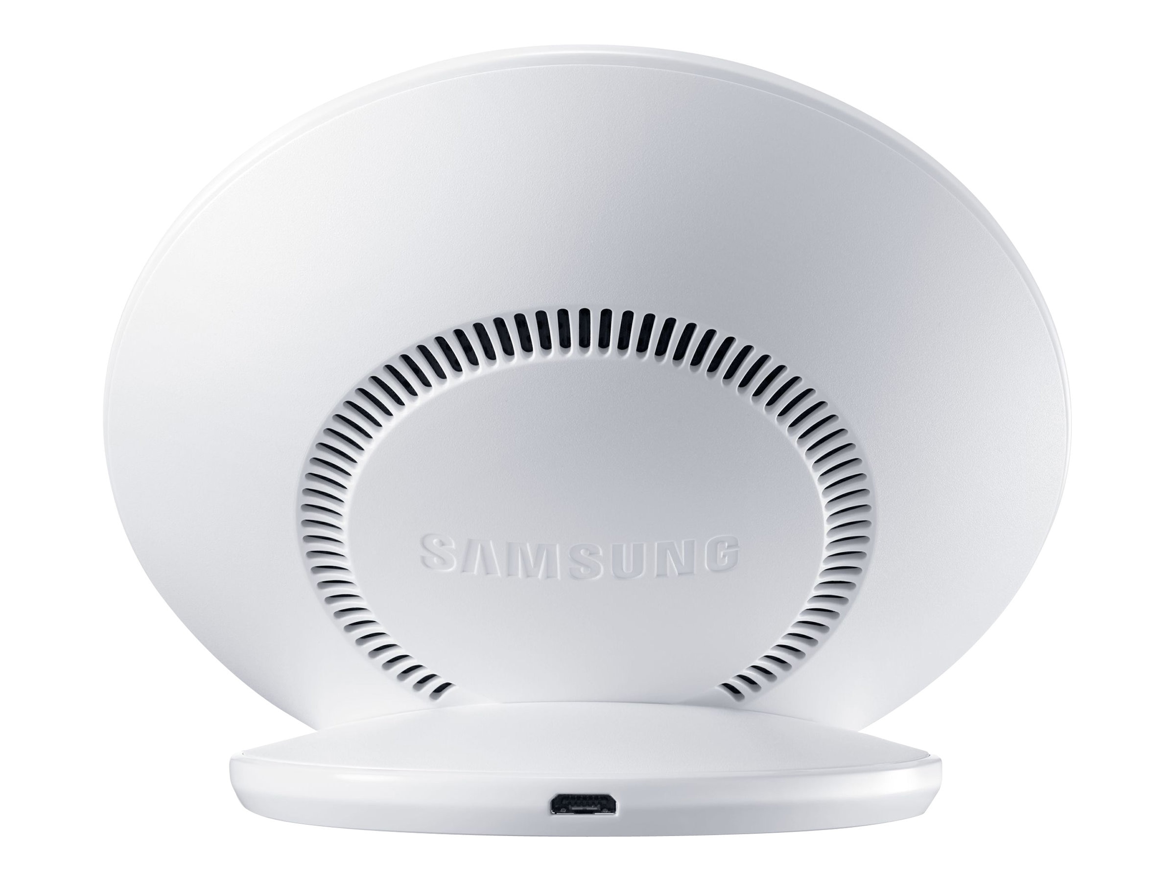 Samsung Fast Charge Wireless Charging Stand, White, EP-NG930TWUGUS