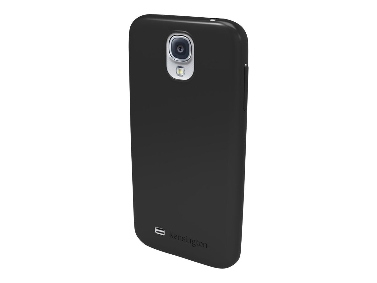 Kensington Gel Case for Samsung Galaxy S 4, Black, K44413WW, 15728002, Carrying Cases - Phones/PDAs