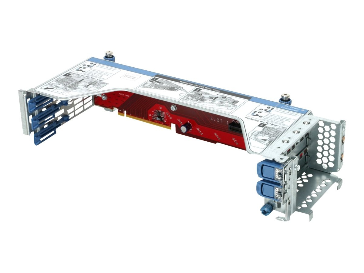HPE PCIe (3x) x16 11OS Right Riser Kit for XL190r, 798186-B21