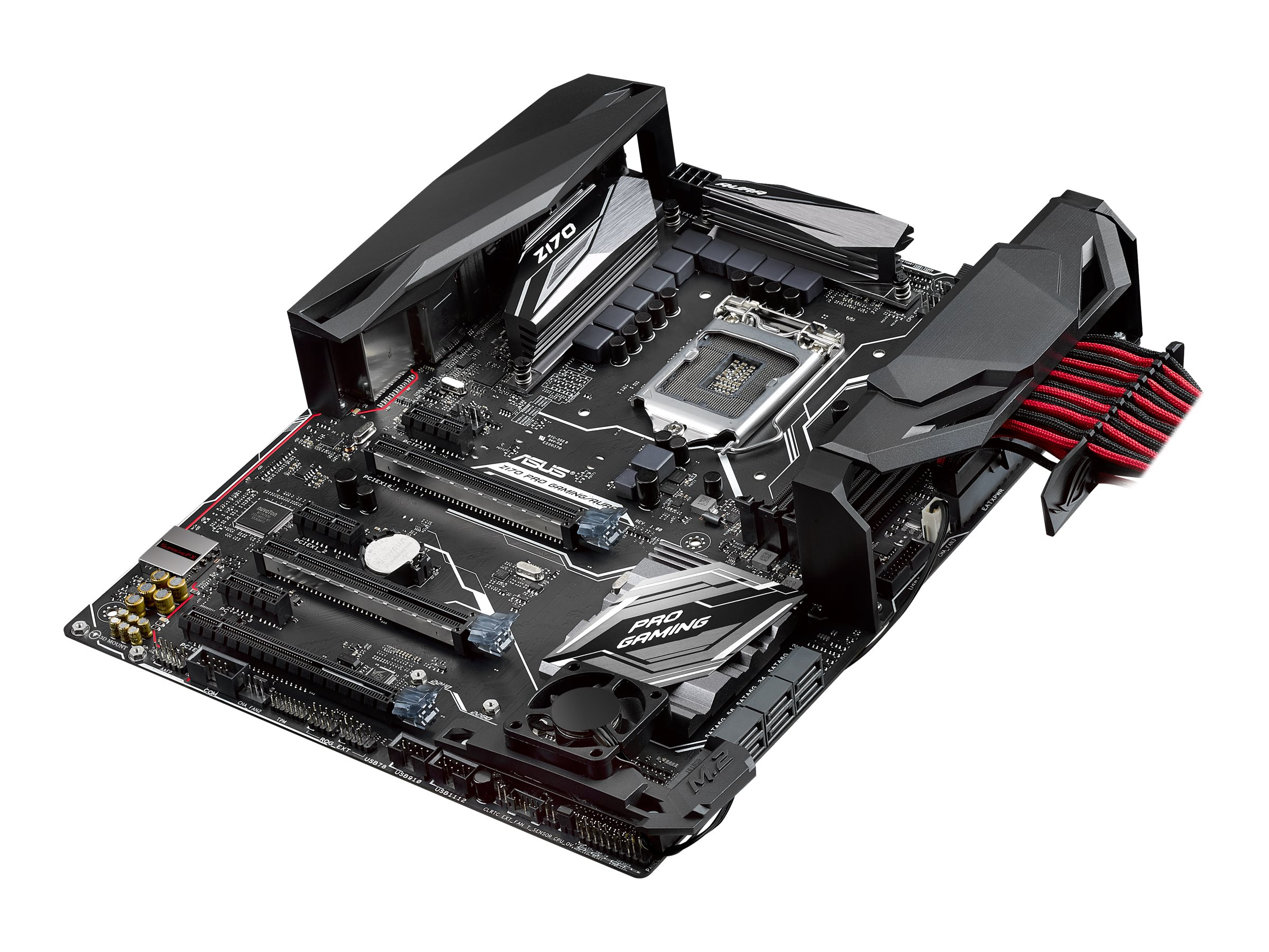 Asus Motherboard, Z170 Pro Gaming Aura Core i7 i5 i3 Family Max.64GB DDR4 6xSATA 6xPCIe GbE, Z170 PRO GAMING/AURA