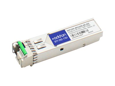 ACP-EP SFP+ 10-GIG BIDI DOM LC 60KM BX TAA Transceiver (Zyxel SFP10G-BX1330-60 Compatible)