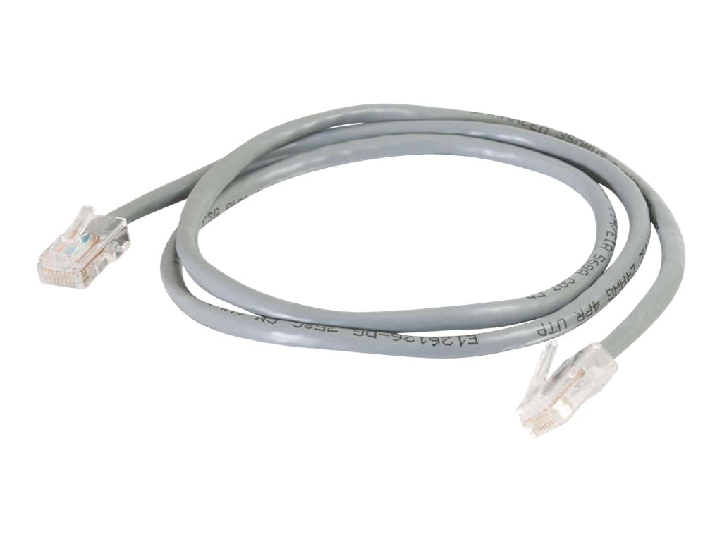 C2G Cat5e Non-Booted Unshielded (UTP) Network Patch Cable - Gray, 30ft