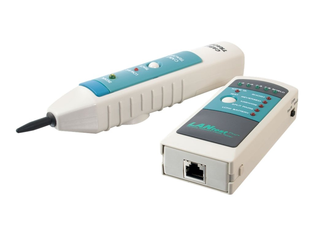 C2G LANtest Pro Remote Network Cable Tester with Tone and Probe