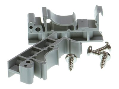 Brainboxes DIN-Rail Mounting Kit for 1 2-Port ES US and SW-005, MK-048, 17385613, Mounting Hardware - Network