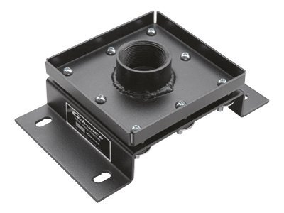 Da-Lite Vibration Isolation Ceiling Plate, Black, 6838, 9223577, Projector Accessories