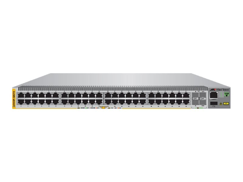 Allied Telesis 48-Port 10 100 1000T Stackable Gigabit Edge Switch, AT-X510DP-52GTX-00, 16604247, Network Switches