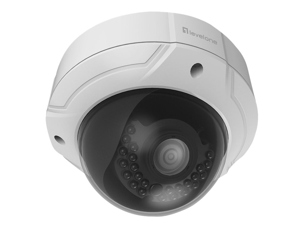 CP Technologies 4MP Fixed Dome Outdoor Camera with 2.8-12mm Lens
