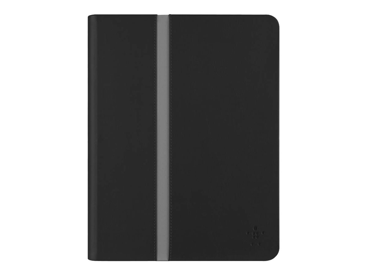 Belkin Stripe Cover for iPad Air Air 2, Blacktop, F7N252B1C00, 18531942, Carrying Cases - Tablets & eReaders