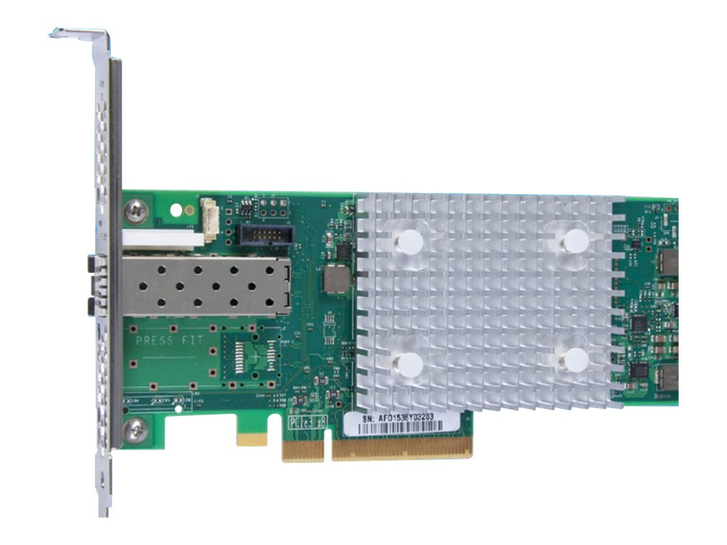 Qlogic 16GB Single Port PCIe FC HBA with Low-Profile Bracket, QLE2690-SR-CK, 31643439, Host Bus Adapters (HBAs)