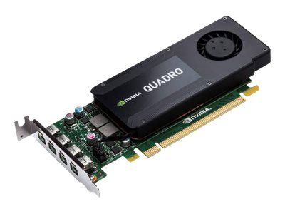 HP NVIDIA Quadro K1200 PCIe 2.0 x16 Graphics Card, 4GB GDDR5, T7T59AT, 31433520, Graphics/Video Accelerators