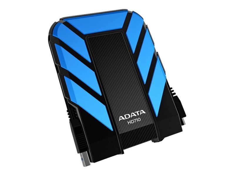 A-Data 500GB DashDrive Durable Series HD710 External Hard Drive - Blue