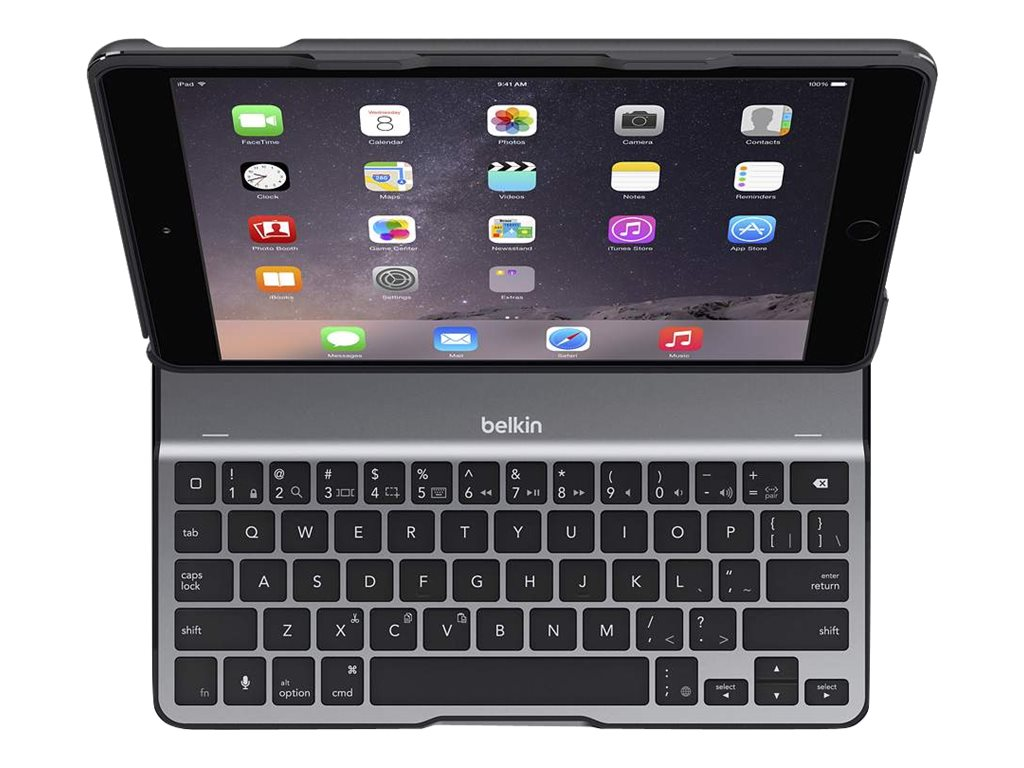 Belkin QODE Ultimate Lite Keyboard Case for iPad Pro 9.7, Black, F5L192TTBLK