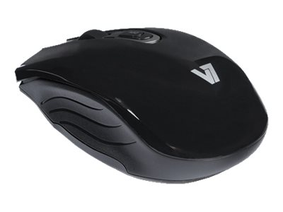 V7 Bluetooth 3.0 Optical Mouse Mid-size 4-button, Selectable Resolution Up to 1600dpi, MV6000-BT-BLK-15NB, 16805516, Mice & Cursor Control Devices