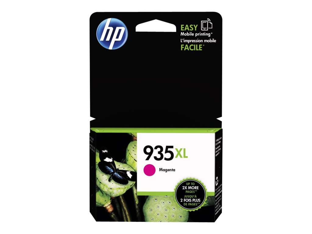 HP 935XL (C2P25AN) Magenta Original Ink Cartridge, C2P25AN#140, 17455159, Ink Cartridges & Ink Refill Kits