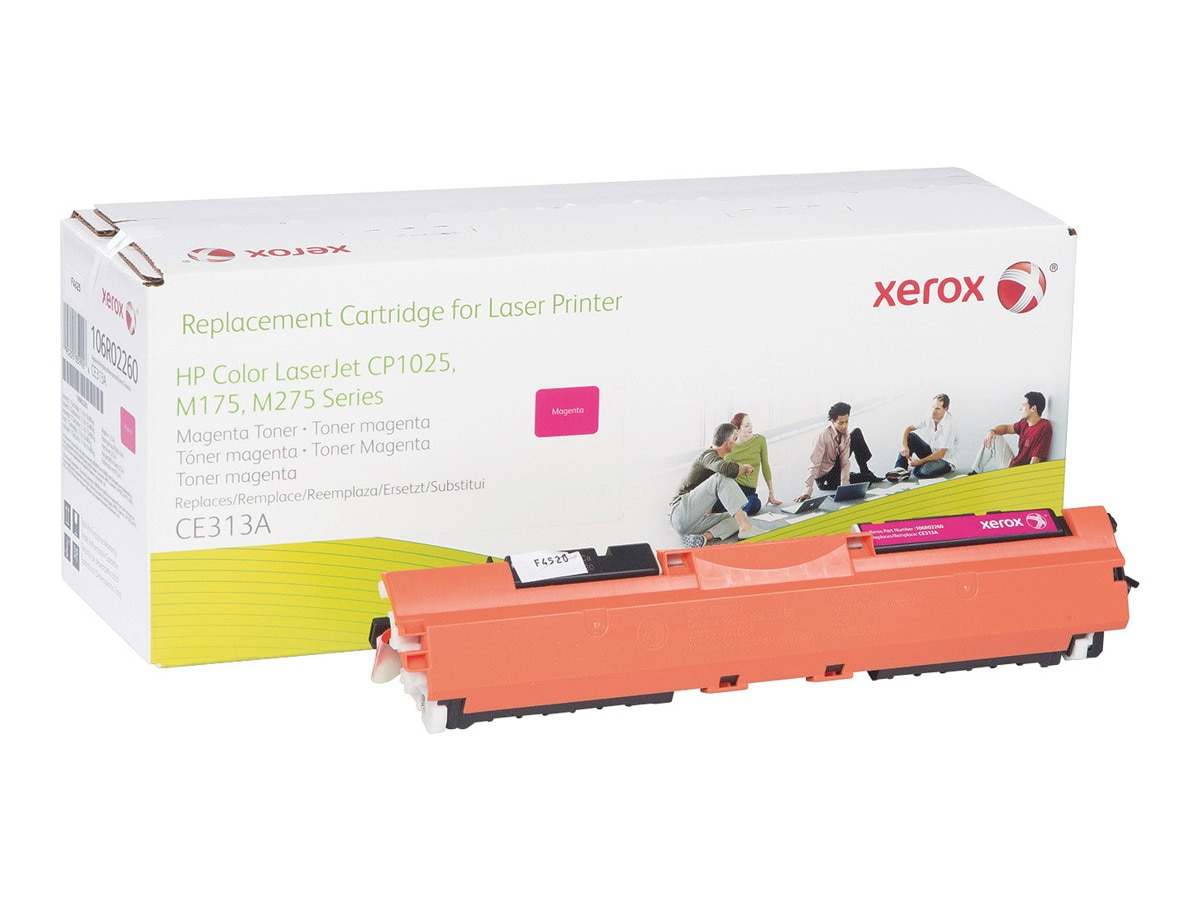 Xerox Magenta Toner Cartridge for HP Color LaserJet CP1025 & M175, 106R02260