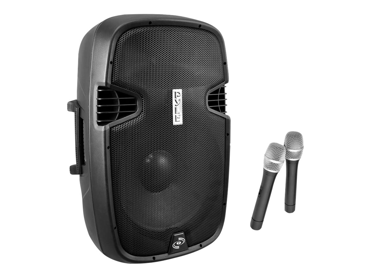Pyle Bluetooth Music Streaming 15 1600W PA Loudspeaker System, PPHP159WMU, 17246120, Music Hardware