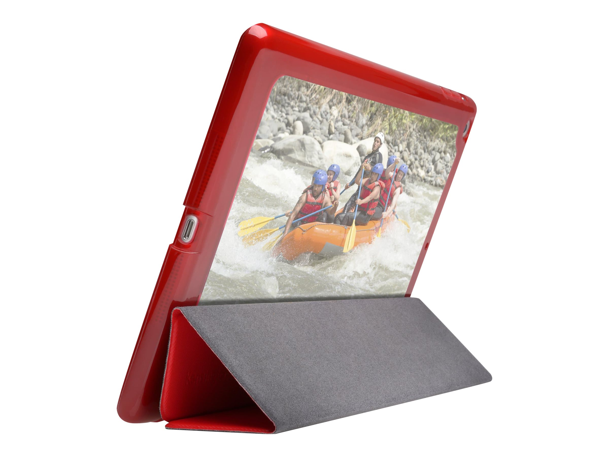Kensington Comercio Me Customizable Folio Case for iPad Air, Red, K97238US