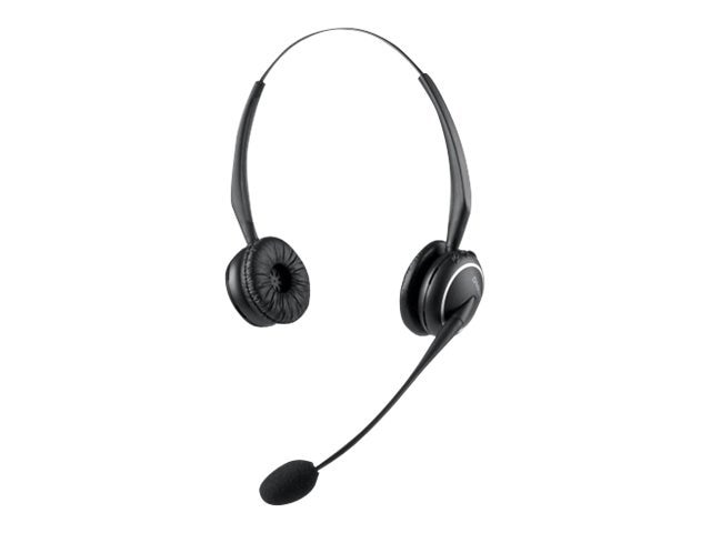 Jabra HEADSET ONLY-9125 DUO FLEX     ACCSBOOM NC MIC 1.9GHZ, 91291-04, 9392741, Headsets (w/ microphone)