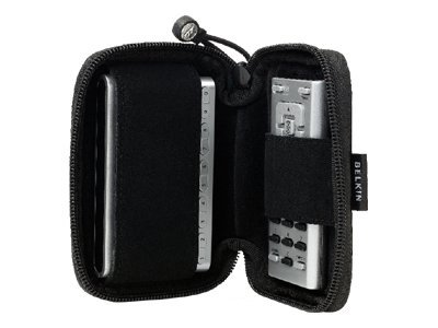 Belkin Zipper Case For XM RoadyXT, F5X014, 6400161, Carrying Cases - Other