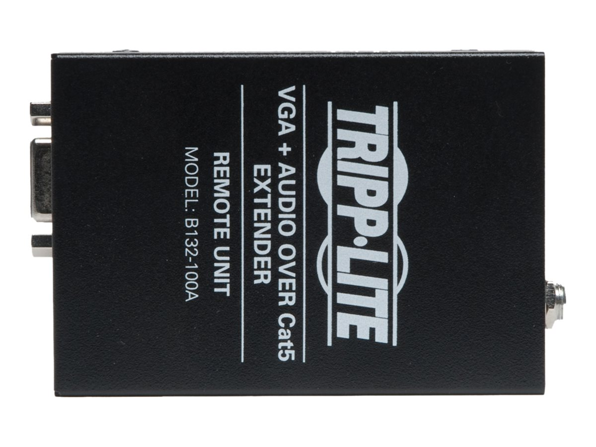 Tripp Lite VGA with Audio over Cat5 Cat6 Extender, Receiver, 1920x1440 at 60Hz, Instant Rebate - Save $6, B132-100A