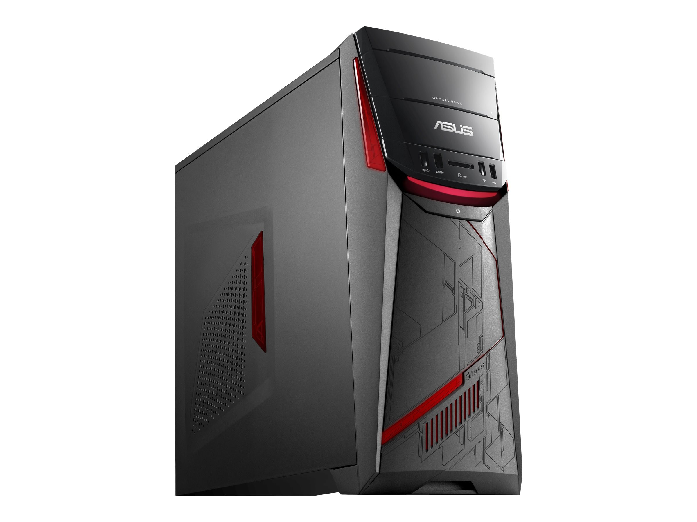 Asus G11CD-WB51 Core i5-6400 8GB 1TB GTX1070 W10, G11CD-WB51-GTX1070