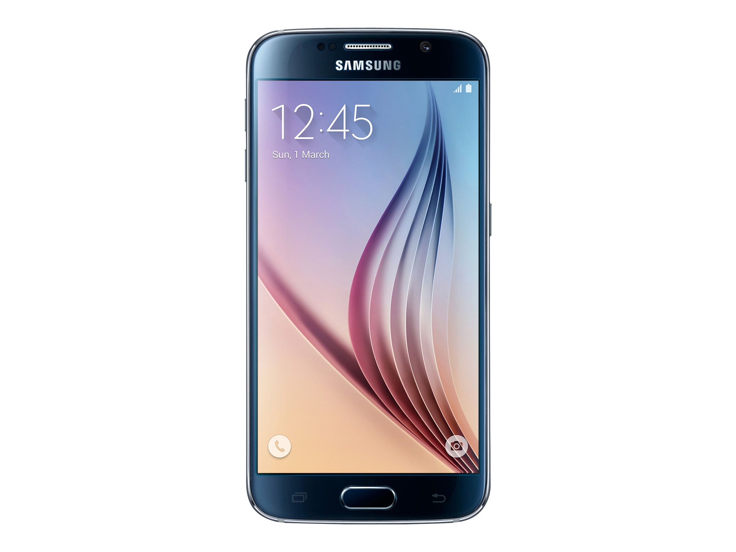 Samsung Galaxy S6 SM-G920 Phone, SM-G920TZKAXAR, 31663042, Cellular Phones