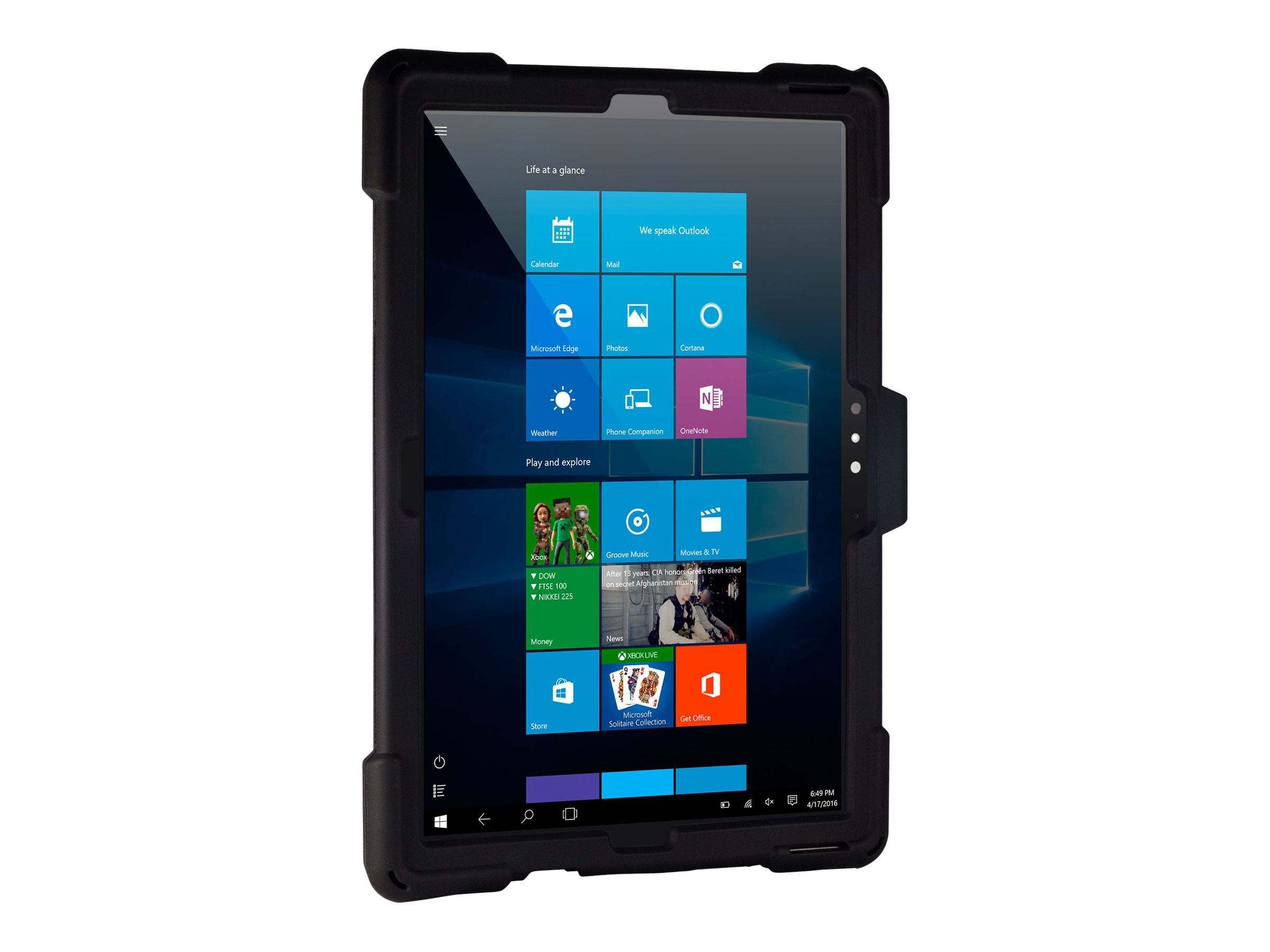Joy Factory aXtion Edge M Rugged Case for Surface Pro 4, 3
