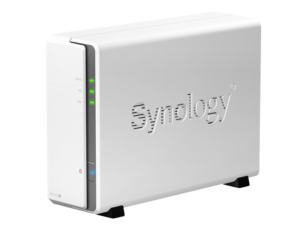 Synology 1 Bay DiskStation, DS115J, 30811314, Network Attached Storage