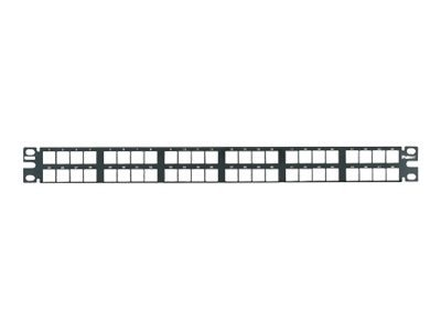 Panduit NK 48-Port Flush Mount Patch Panel, NKPP48HDY
