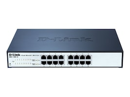 D-Link 16-port Gigabit Easy Smart Switch, DGS-1100-16, 12645375, Network Switches