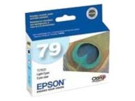 Epson 79 High Capacity Light Cyan Ink Cartridge for Stylus Photo 1400, T079520, 7415129, Ink Cartridges & Ink Refill Kits