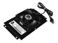 Chatsworth Cube-iT Fan Kit 100CFM 115VAC Black, 12804-701, 7018772, Rack Cooling Systems