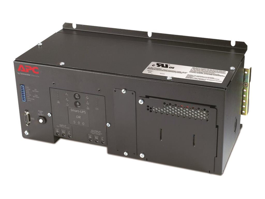 APC Industrial Panel and DIN Rail UPS with Standard Battery 500VA 120V, SUA500PDR-S, 14732181, Battery Backup/UPS