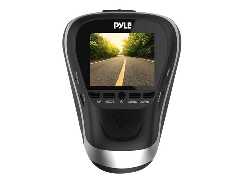 Pyle 1080p HD Dash Camera with Impact Parking Monitor, PLDVRCAM25