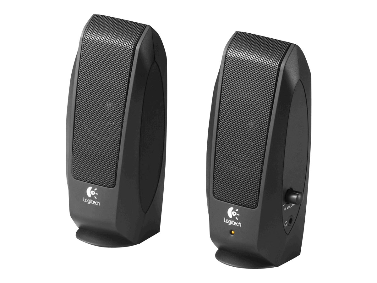 Logitech S120 2.0 Speakers, 980-000012, 7734891, Speakers - PC