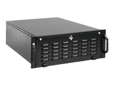 iStarUSA Chassis, 4U Rugged Rackmount High Performance, EATX, 7x5.25, 3x3.5, 7xSlots, Black