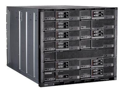 IBM TopSeller Flex System Enterprise Chassis 10U RM 2xCMM2 14xCompute Node Bays 2xCN4093 6x2500W, 8721E4U, 19749441, Cases - Systems/Servers