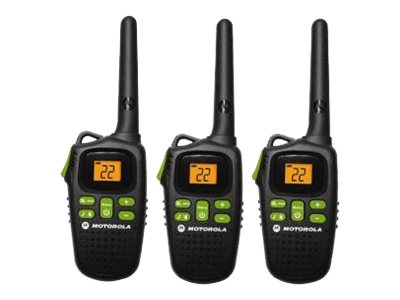 Motorola Talkabout MD200TPR Two-Way Radio, Triple Pack