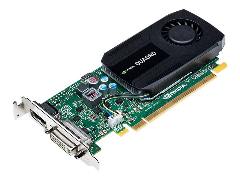 PNY NVIDIA Quadro K420 PCIe 2.0 x16 Graphics Card, 1GB DDR3, VCQK420-PB