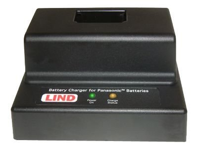 Lind Desktop Battery Charger for Panasonic Laptop Models CF-29, CF-30, CF-51, Single Bay, PACH129-1874, 9776438, Battery Chargers