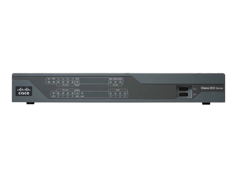 Cisco 890 Series GE AE Secruity Router JP, C891FJ-K9