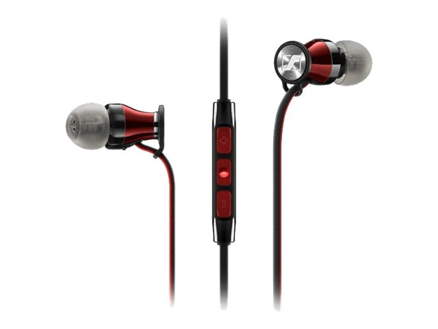 Sennheiser Momentum G Ear Buds - Black Red