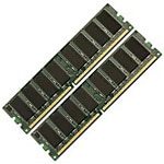Edge 4GB PC2-4200 533MHz 240-pin Non-ECC Unbuffered DDR2 SDRAM DIMM Kit for Power Mac G5, MA248G/A-PE, 7808871, Memory