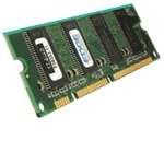 Edge 512MB PC2700 333MHz 184-pin CL2.5 DDR SDRAM DIMM for NetVista and ThinkCentre Models, PEIBM33L3306-PE, 7811615, Memory