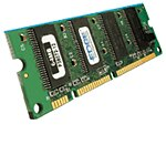 Edge 128MB PC2100 266MHz 100-pin DDR SDRAM DIMM for LaserJet 9040 and 9050, Q2626A-PE, 7811631, Memory